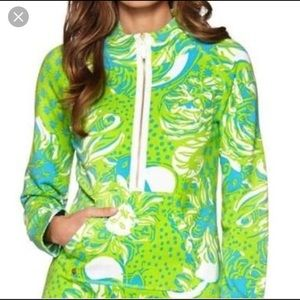Lilly Pulitzer Limeade Roar in the Jungle Pullover